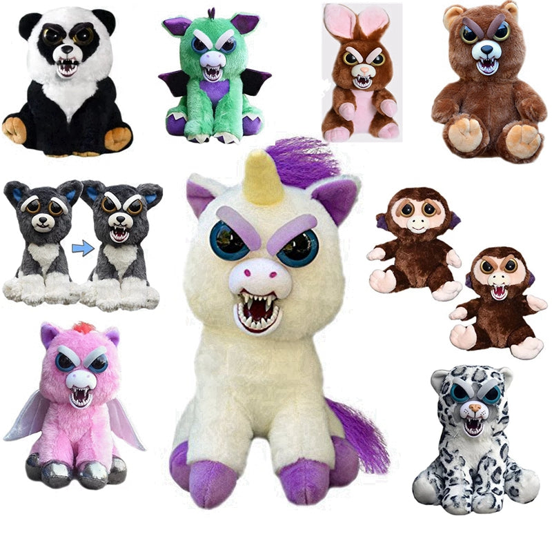 Angry Plush Animals