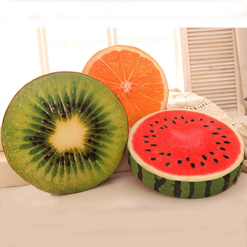 Funny Decor Fruit/Wood Cushions