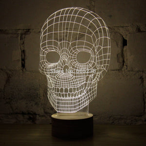 Amazing 3D LED Mood Lamps
