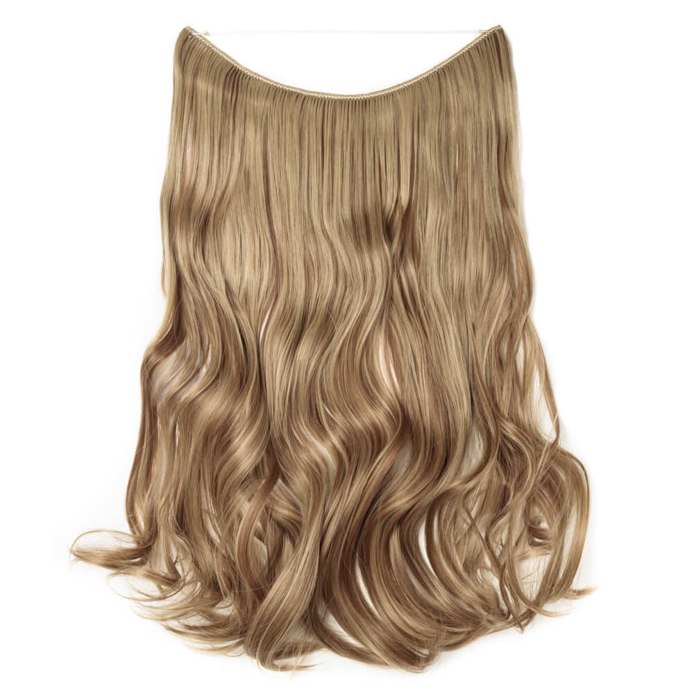 light brown ash blonde hair extensions curly