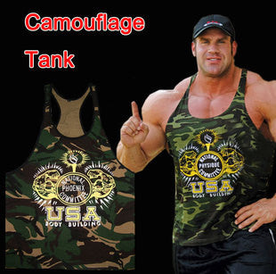 Camouflage Tank Top for Men