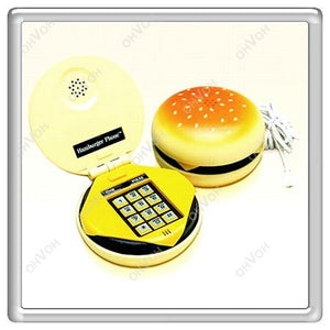 Funny Hamburger Telephone