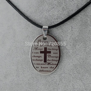Serenity Prayer Necklace including a free gift