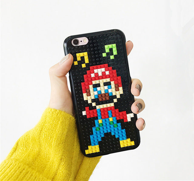 3D DIY Lego Phone Cases