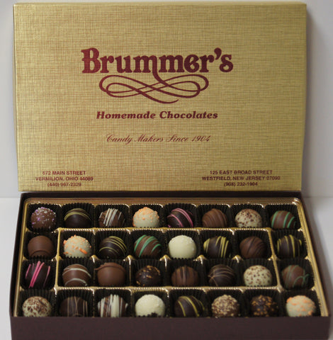 32 Piece Assorted Fancy Truffle Box