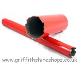 Dry Diamond Core Bit 52mm x 430mm