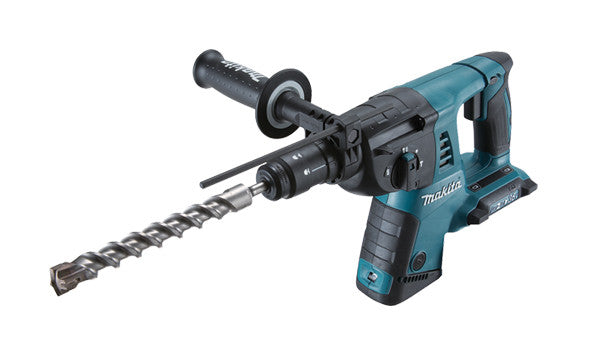 Makita DHR264ZJ 18v Twin SDS Hammer Drill in Makpac Connector ( Body Only ) c/w Quick Change Chuck