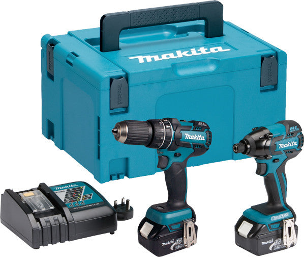 Cordless Impact Drill and Driver (Twin Pack)