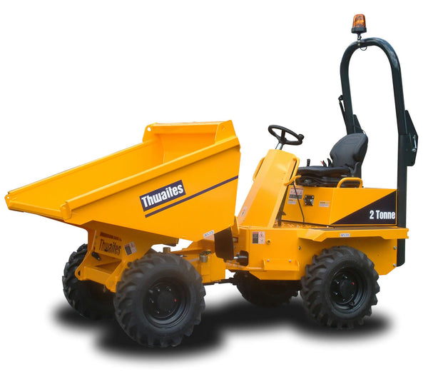 2 Tonne High Tip Swivel Dumper