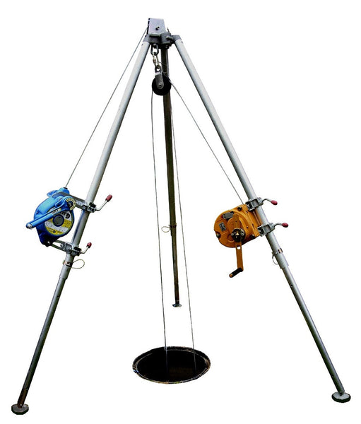 G.Tripod Access System (with fall arrester & winch)