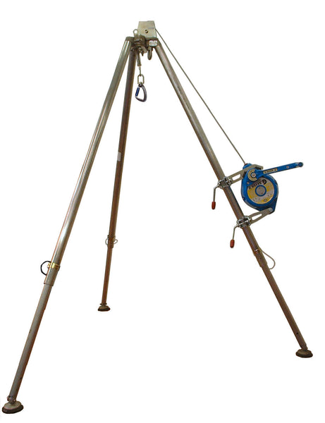 G.Tripod with Fall Arrester
