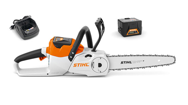 STIHL MSA140C Compact cordless chainsaw with battery and charger