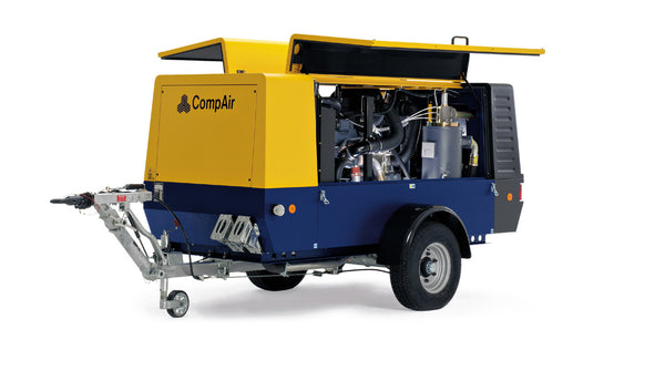 140 cfm Towable Compressor