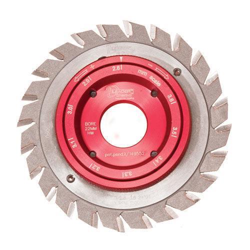 DLeader Adjustable Scorer sawblade 100 x 20mm x 24T