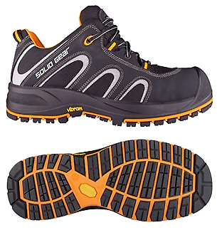 Solid Gear Griffin Safety Trainers with Fibreglass Toe Caps & Composite Plate Model: Griffin ART. SG73001 Snickers Description of the Griffin Safety Trainers