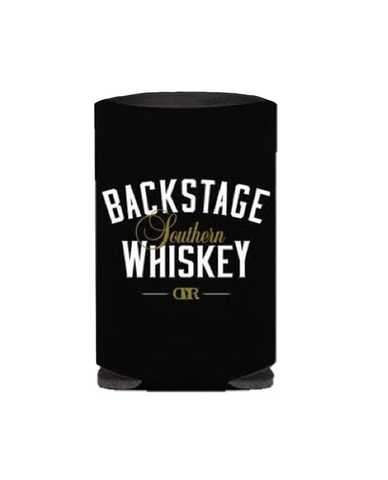 BACKSTAGE WHISKEY CAN KOOZIE