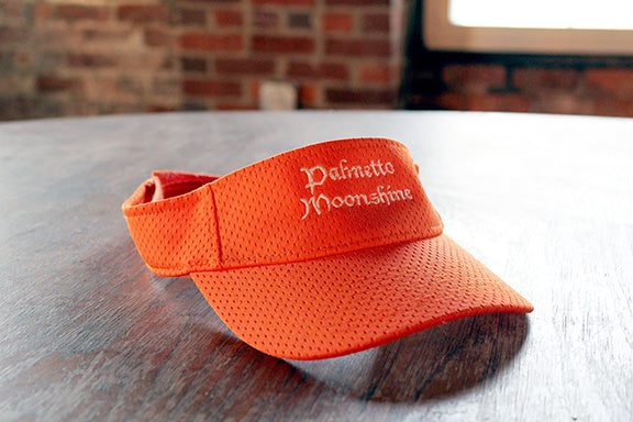 PALMETTO MOONSHINE VISOR (ORANGE)