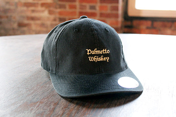 PALMETTO WHISKEY HAT - BLACK