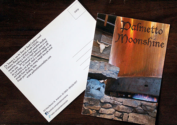 PALMETTO MOONSHINE STILL POSTCARD #1