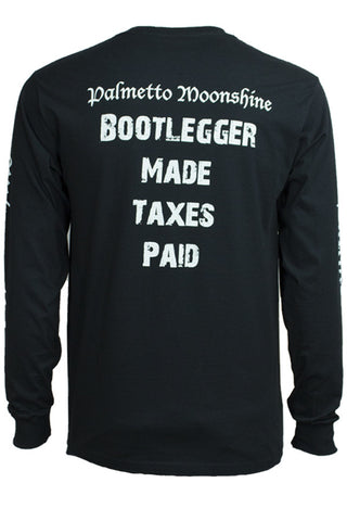 LONG SLEEVE: BOOTLEGGER MADE, TAXES PAID