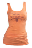 TANK TOP WITH RHINESTONES