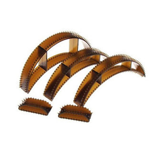5PCS BROWN  <br> HAIR CLIPS