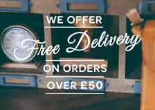 Save with our FREE Delivery option on all orders over £50.00
