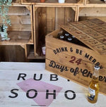 Advent Beer Crate