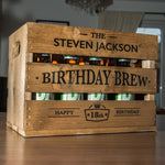 Birthday Beer Crate - Editable