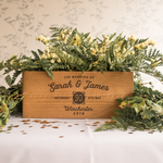 Centre Piece Wedding Crate