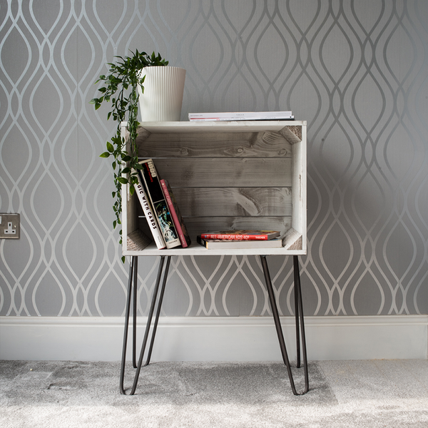 Crate Side Table - Free Delivery