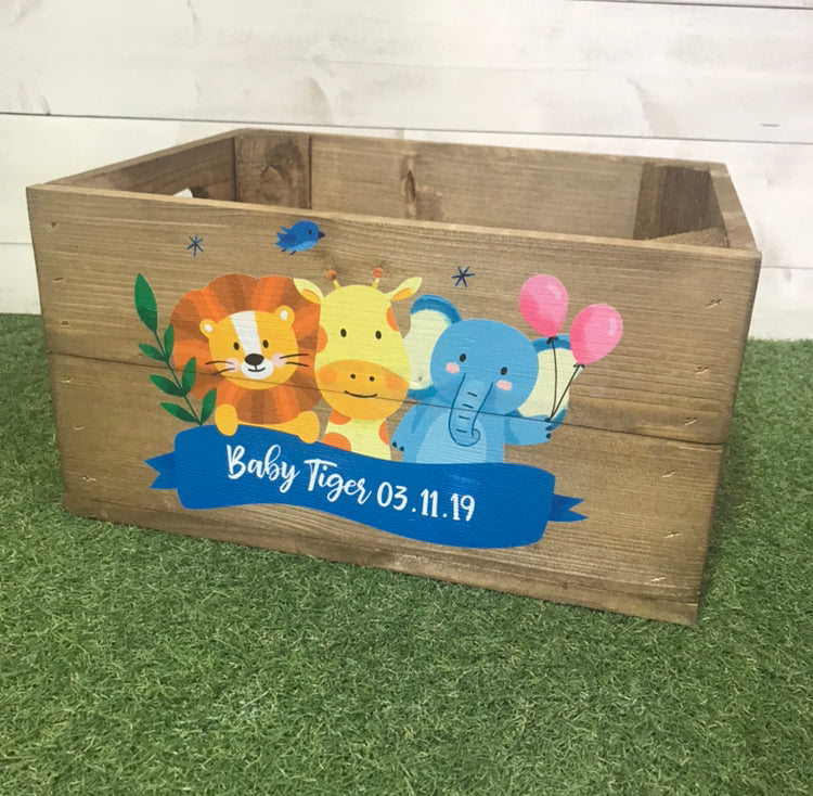 New Baby Hamper/ Baby Shower Crate