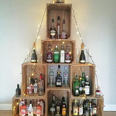 Crate Christmas Tree - Free Delivery