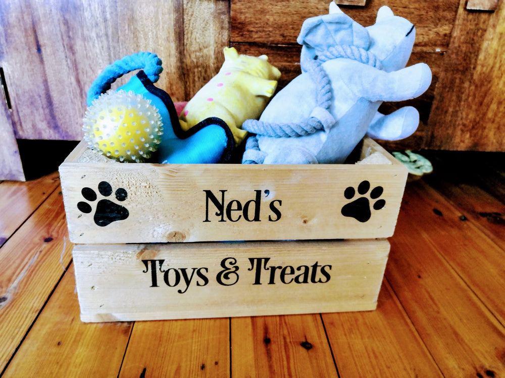 Pet Toy Tidy - Small Dog Toybox / Cat Toybox
