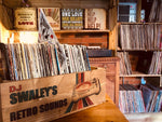 Shallow Vinyl Record Storage Crate