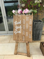 Floor Standing Easel - 2 sizes available