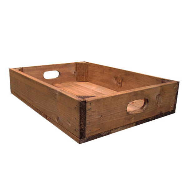 10 Apple Crate Tray Discount Bundle - 4 finishes available - Free Delivery