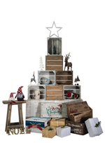 Half Crate Christmas Tree - Free Delivery
