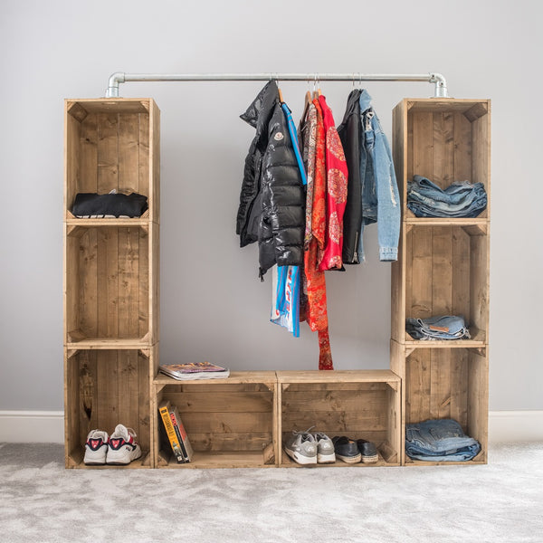 Urban Wardrobe Unit - Free Delivery