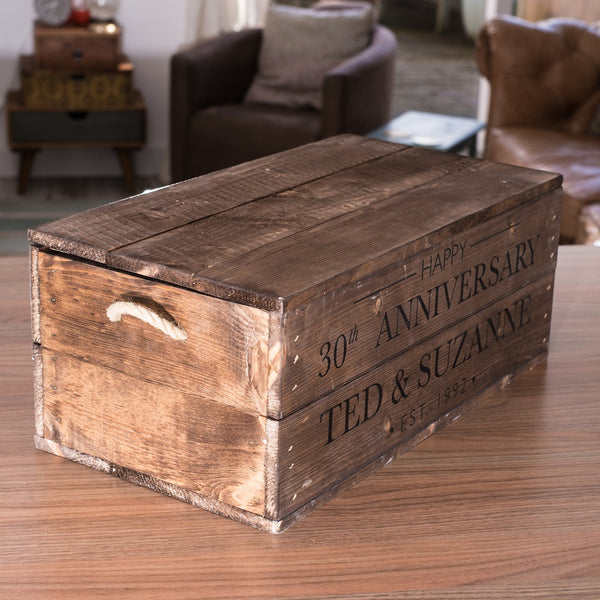 Wedding/Anniversary Gift Box with lid