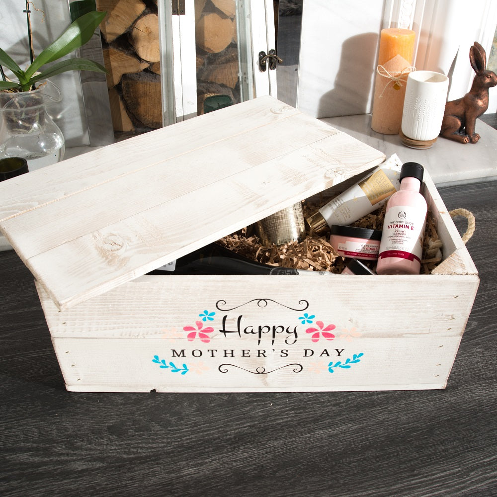 Corporate Gift Hamper with lid (rope handles optional)
