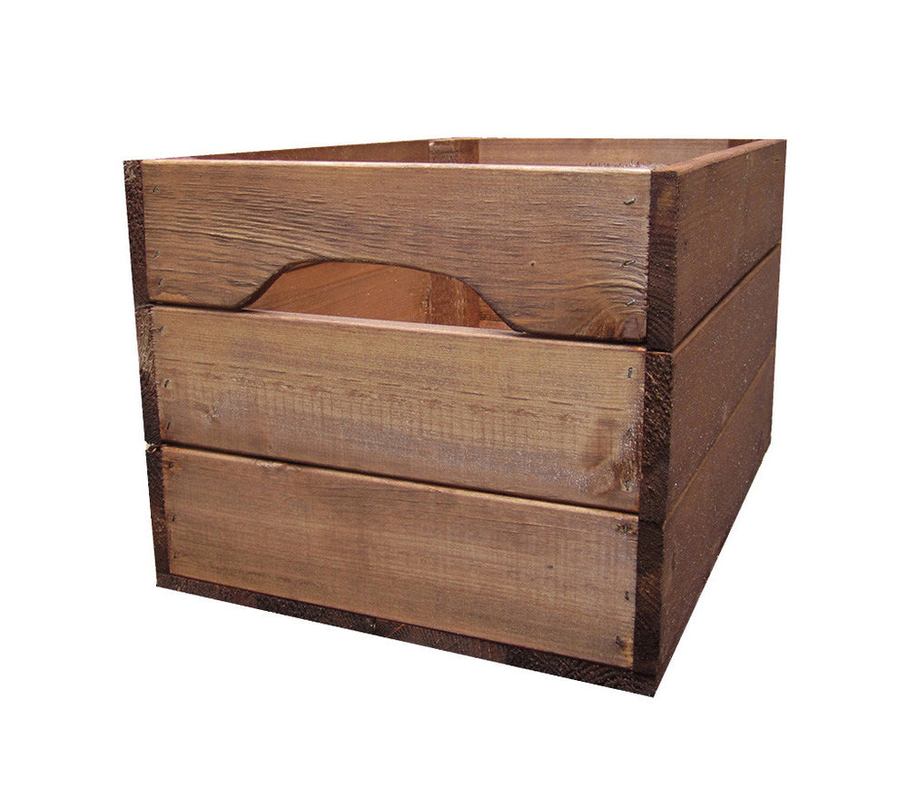 Large Farmhouse Crate