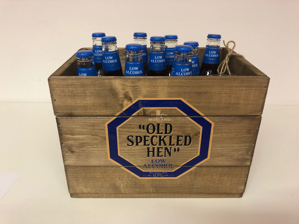 Corporate Beer crate - Ideal for Gift/Marketing