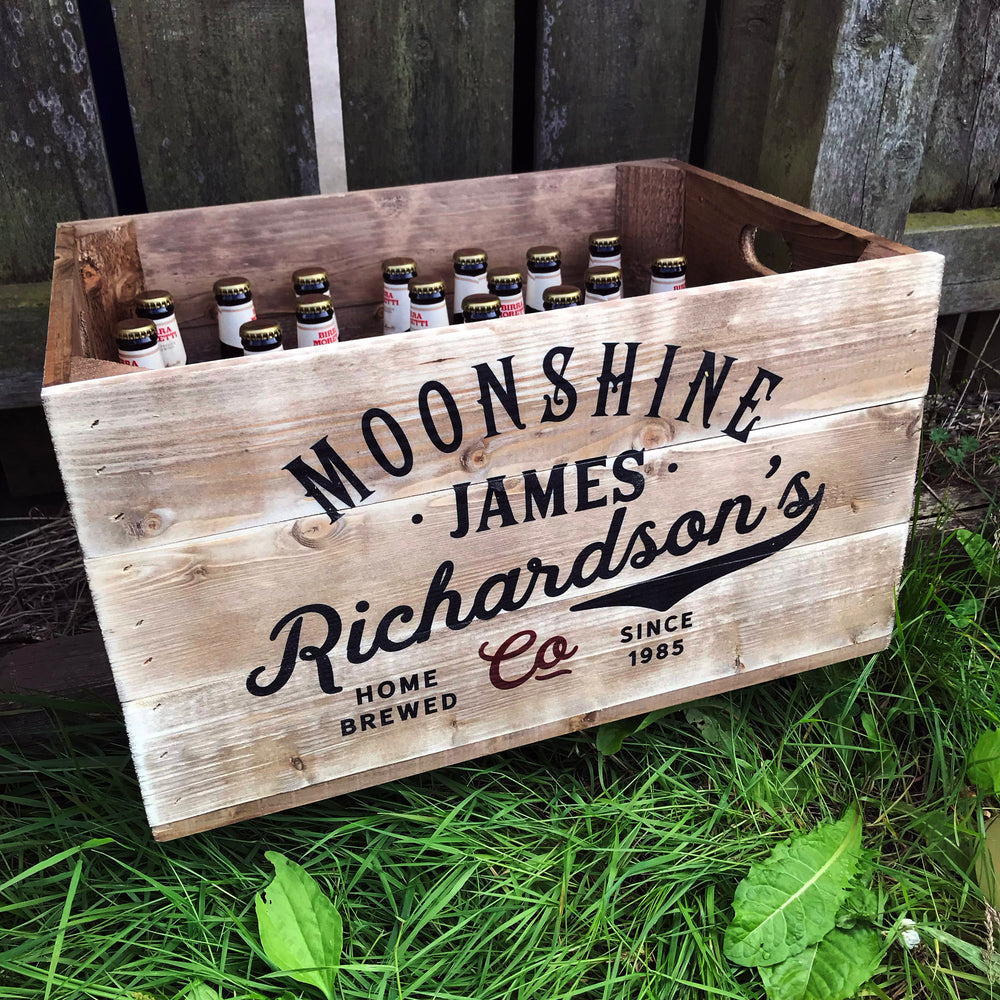 Beer crate - Large Moonshine Beer Crate
