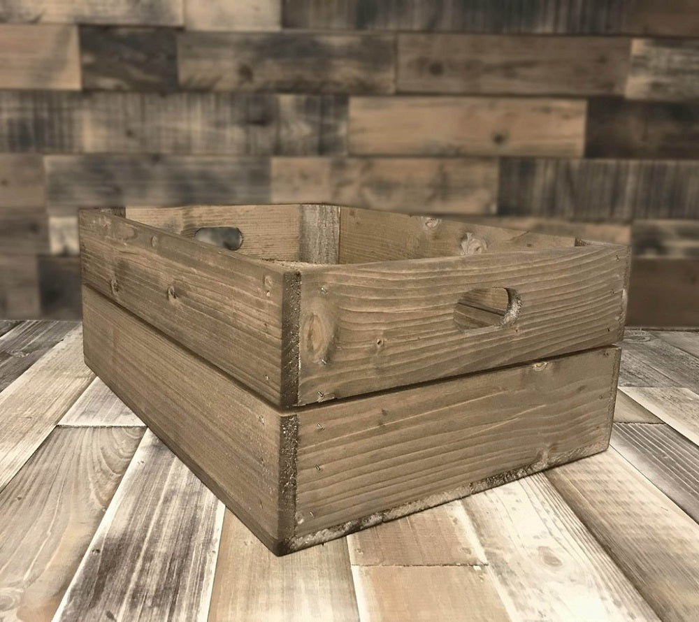 10 Shallow Crates Discount Bundle - 4 finishes available - Free Delivery