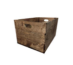 Standard Crate Dark Walnut finish