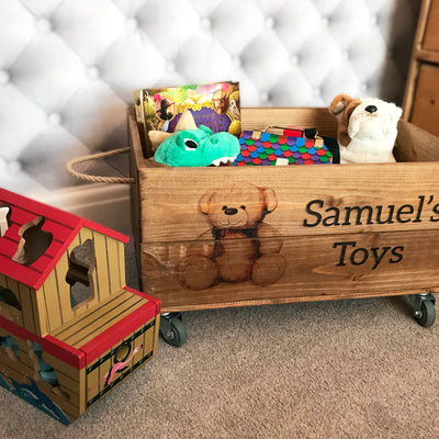 TEDDY TOYBOX CRATE