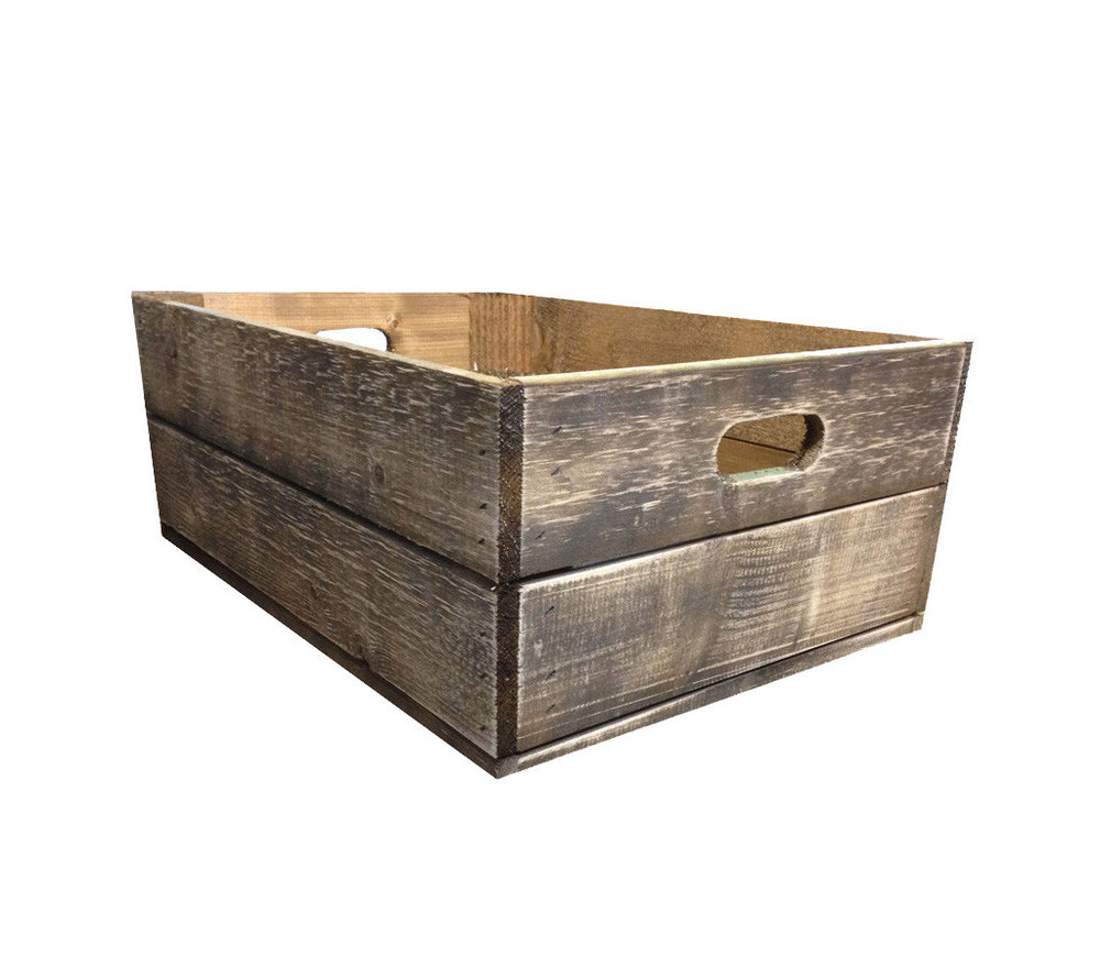 Vintage Style Shallow Crate