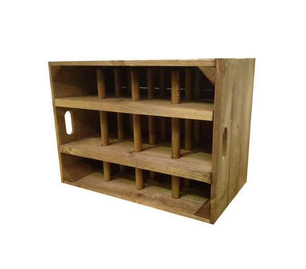 Wine crate standard size for Apple crate furniture