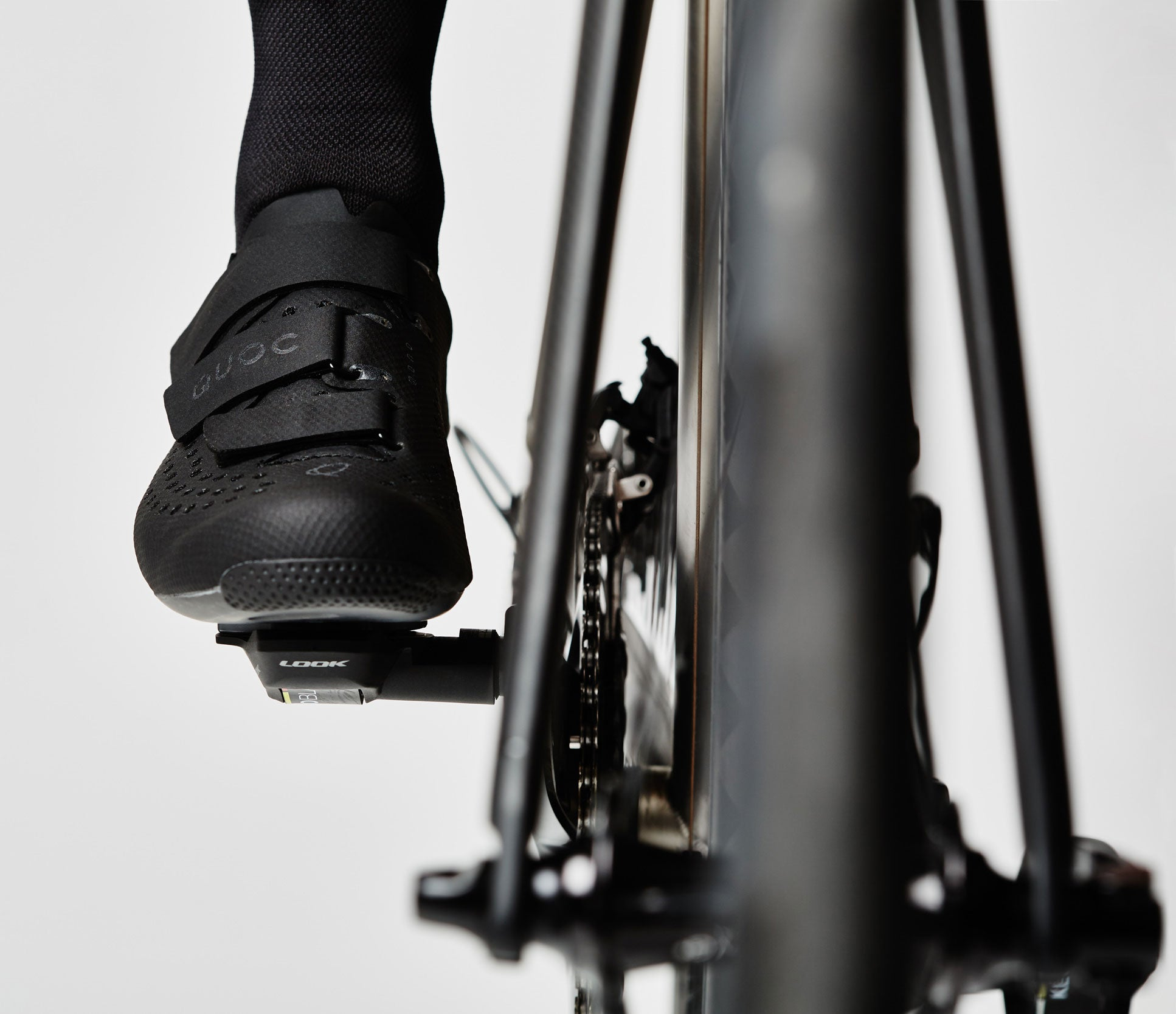 Quoc Aerofoil Road Sock - Black